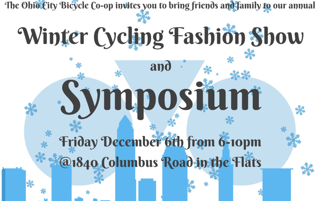 Annual Symposium and Fashion show is this Friday the 6th at 6pm!