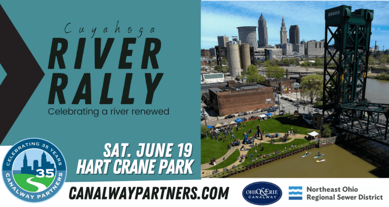 Join us for the Cuyahoga River Rally, Saturday June 19th from 9am-5pm